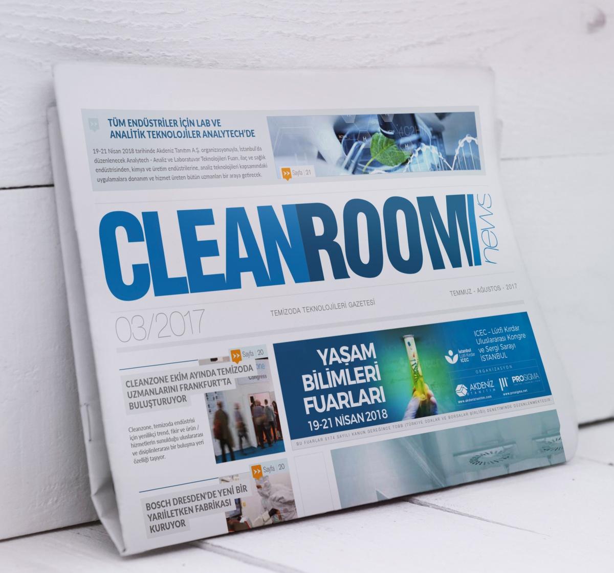 CLEANROOMNEWS GAZETESİ